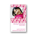 Dainty Dots -- Pink Mommy Card
