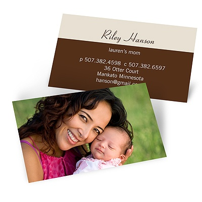 Featured Photo -- Mommy Card
