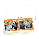 Batty Collage -- Halloween Photo Card