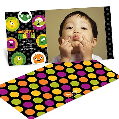 Monster Mash -- Halloween Photo Card