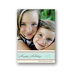Soft Elegance -- Holiday Photo Card