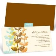 Elegant Gratitude Thanksgiving Invitations