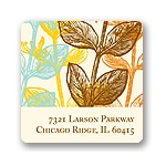 Elegant Floral -- Address Label