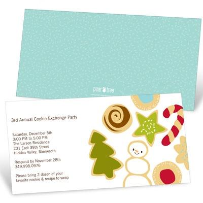 Sweet Treats Holiday Party Invitations