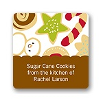 Sweet Treats -- Christmas Gift Stickers