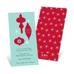 Ornamental -- Red Holiday Party Invitation