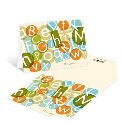 Alphabet Fun Teacher Stationery