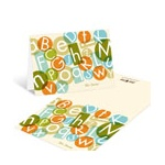 Alphabet Fun -- Personalized Note Card