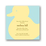 Quack! -- Baby Shower Invitation