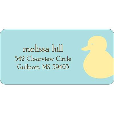 Quack! Baby Address Labels