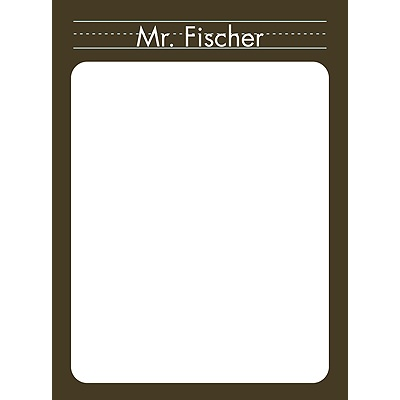 Chalk Board Teacher Stationery