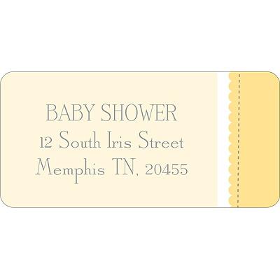 Dot Dot Duck Baby Address Labels