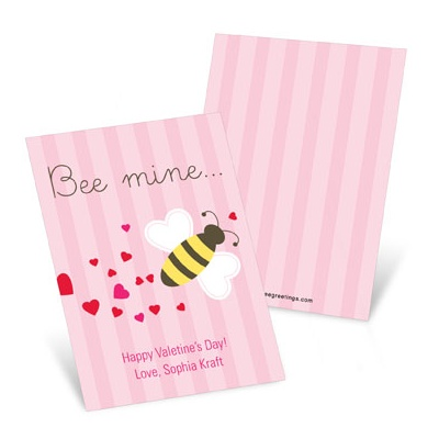 Bee Mine Valentine's Day Cards for Kids