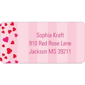Bee Mine -- Valentine's Day Address Label