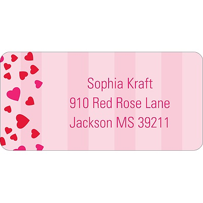 Bee Mine Valentine's Day Address Label