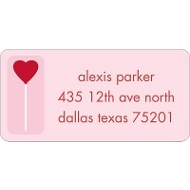 Sweet Love Valentine's Day Address Label