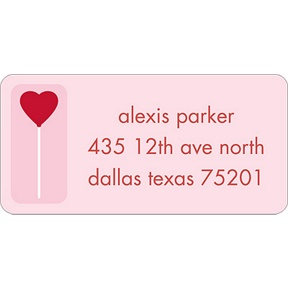 Sweet Love -- Valentine's Day Address Label