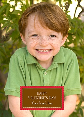 Love Stamp - Kid's Photo Valentine's Day Card