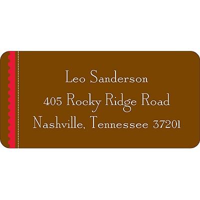 Love Stamp Valentine's Day Address Label