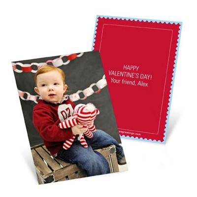 Photo Op Vertical -- Valentine's Day Cards for Kids