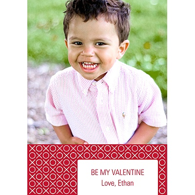 XOXO, Repeat! -- Valentine's Day Photo Card