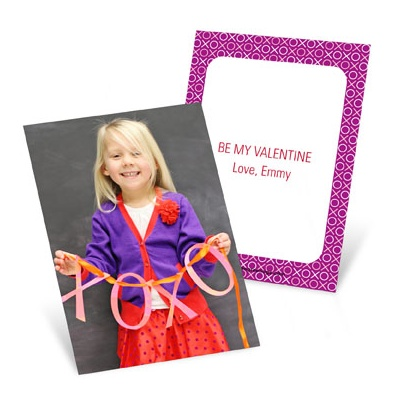My Favorite Photo Vertical Valentine's Day Cards for Kids