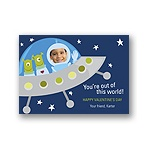 Out of this World -- Kid's Valentine's Day Card