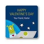 Out of this World -- Valentine's Day Gift Tag