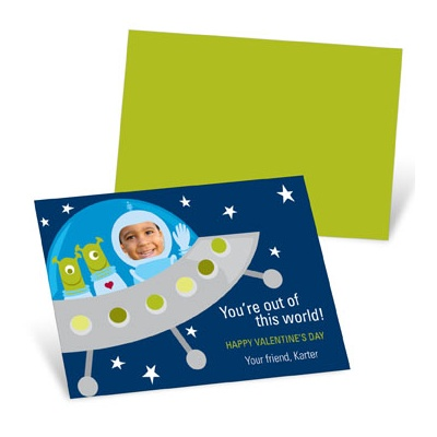 Out of this World  Valentine's Day Cards for Kids