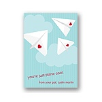 Plane Cool -- Kid's Valentine's Day Card