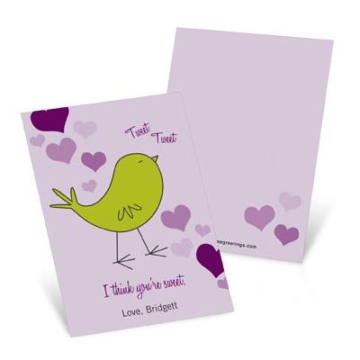 Tweet  Valentine's Day Cards for Kids