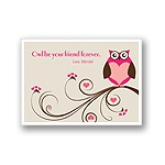 Owl Be -- Kid's Valentine's Day Card