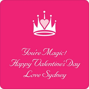 Magical -- Valentine's Day Personalized Stickers