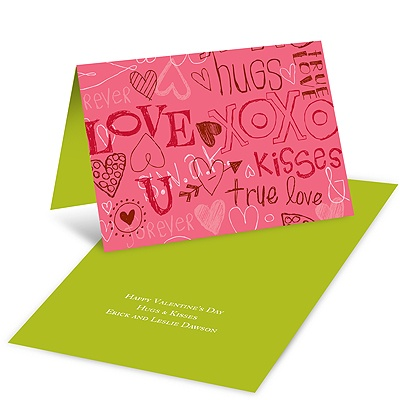 Doodles -- Kid's Valentine's Day Card