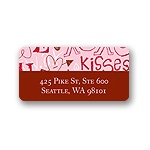Doodles -- Valentine's Day Address Label