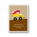 Loading Zone -- Kid's Valentine's Day Card