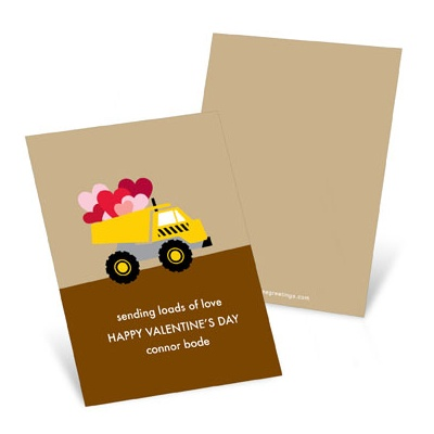 Loading Zone Valentine's Day Cards for Kids