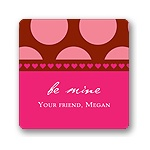 Subtle Love -- Valentine's Day Personalized Stickers