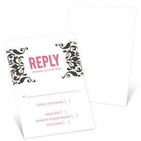 Divine Damask -- Response Cards