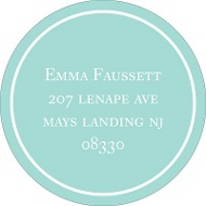 Tying the Knot Address Label