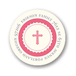 Simplicity -- Pink Address Labels