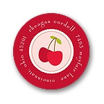 Cheery Cherries -- Address Label