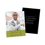Simple Portrait - Photo Graduation Invitation