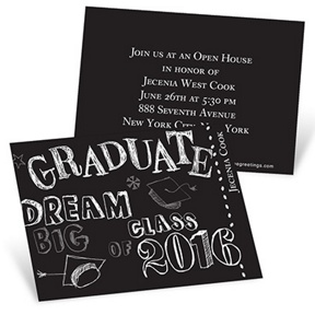 Doodles -- Mini Graduation Announcements