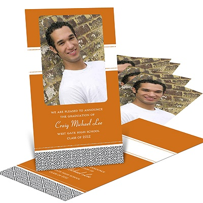 Wrap Around -- Graduation Invitation