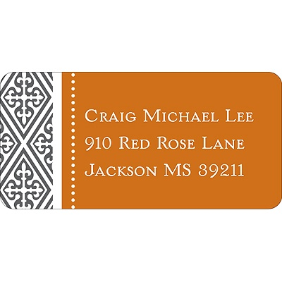 Wrap Around -- Address Label