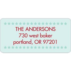 Stars Align -- Address Label