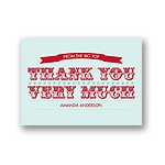 Show Stopper -- Thank You Card