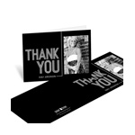 Striped Success -- Photo Thank You Card Horizontal