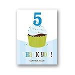 Sweet Sprinkles -- Blue Thank You Card
